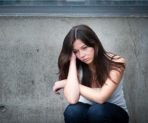 Mens Health Clinic sad girl